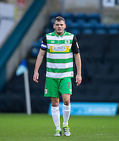 Ryan Dickson of Yeovil Town during the Sky Bet League 2 match between Wycombe Wanderers and Yeovil Town at Adams Park, High Wycombe, England on 14 January 2017. Photo by Andy Rowland / PRiME Media Images.