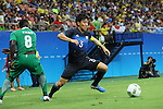 Wataru Endo (JPN), AUGUST 4, 2016 - Football / Soccer : Men's First Round Group B between Nigeria 5-4 Japan at Amazonia Arena during the Rio 2016 Olympic Games in Manaus, Brazil. (Photo by YUTAKA/AFLO SPORT)