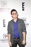 Designer Christian Siriano Attends E!'s 2016 Spring NYFW Kick Off party at The Standard, High Line, Biergarten & Garden