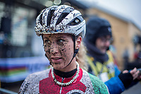 Jolanda Neff (SUI/Trek-Segafredo) post race. <br /> Women's Elite race<br /> <br /> UCI 2019 Cyclocross World Championships<br /> Bogense / Denmark<br /> <br /> ©kramon