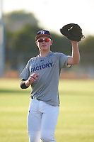 Cole Stenstrom (51), from Lino Lakes, Minnesota, while playing for the Tigers during the Under Armour Baseball Factory Recruiting Classic at Gene Autry Park on December 27, 2017 in Mesa, Arizona. (Zachary Lucy/Four Seam Images)