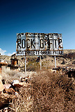 USA, Utah, a roadside rock and gem shop in the small town of La Verkin, Rte 9