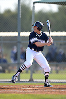 UW-Stout Blue Devils Josh Halling (13) during the first game of a doubleheader against the Edgewood Eagles on March 16, 2015 at Lee County Player Development Complex in Fort Myers, Florida.  UW-Stout defeated Edgewood 6-1.  (Mike Janes/Four Seam Images)