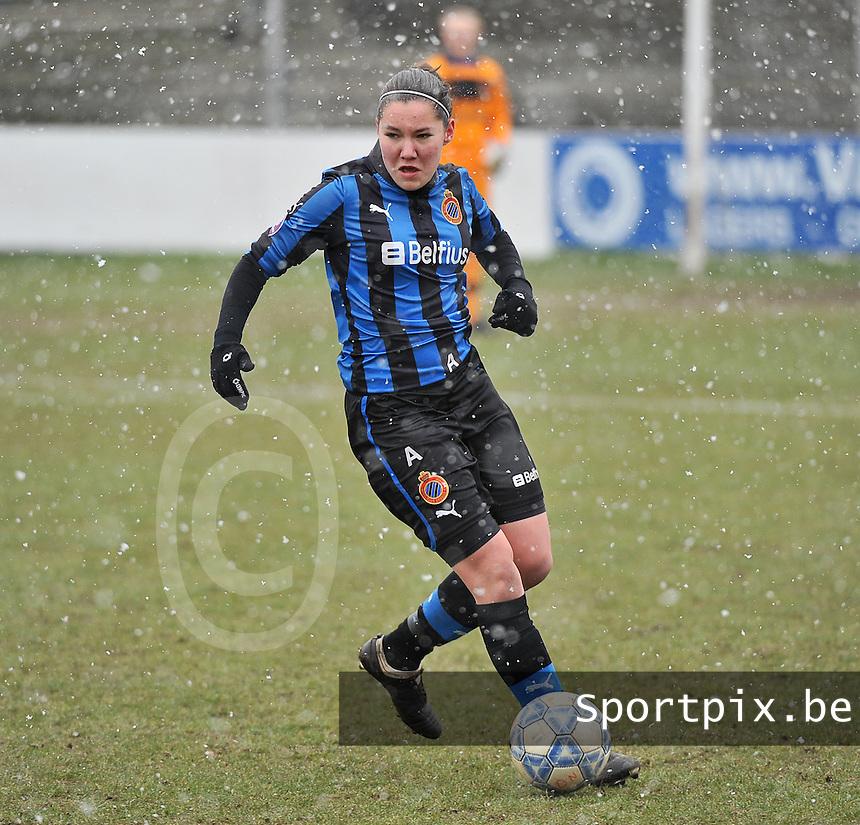 Club Brugge Dames - PEC Zwolle : Elien Van Wynendaele.foto DAVID CATRY / Vrouwenteam.be