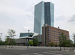 Frankfurt; seat of ECB