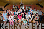 18th: Patrick Allan who celebrated his 18th birthday in the Railway Bar, Ballybunion on Friday night with his family and friends (Patrick is seated 4th from right)