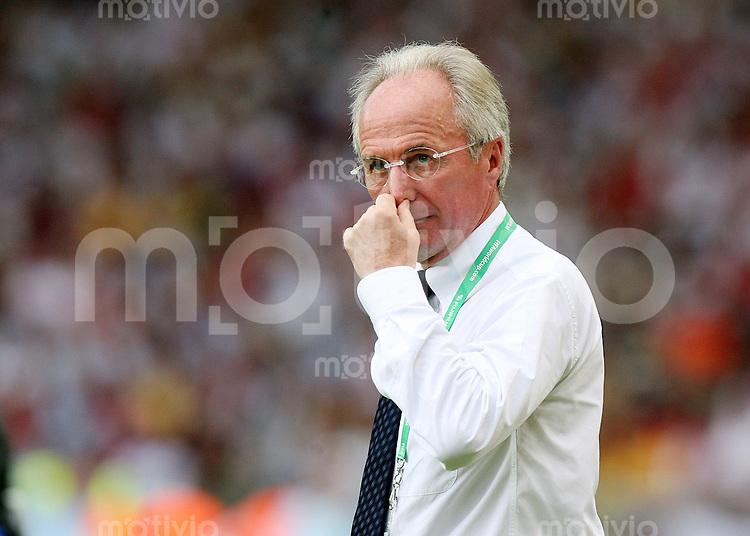 Fussball WM 2006   Achtelfinale   England 1-0 Ecuador ENG Trainer Sven Goran Eriksson