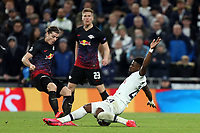 Serge Aurier of Tottenham Hotspur and Marcel Sabitzer of RB Leipzig  during Tottenham Hotspur vs RB Leipzig, UEFA Champions League Football at Tottenham Hotspur Stadium on 19th February 2020
