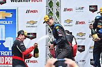 IMSA WeatherTech SportsCar Championship<br /> Chevrolet Sports Car Classic<br /> Detroit Belle Isle Grand Prix, Detroit, MI USA<br /> Saturday 3 June 2017<br /> 10, Cadillac DPi, P,  Jordan Taylor, 31, Cadillac DPi, P, Dane Cameron <br /> World Copyright: Richard Dole<br /> LAT Images<br /> ref: Digital Image RD_DTW_17_0422