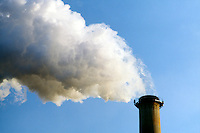 SMOKESTACK: BILLOWING WHITE SMOKE<br /> Con Edison Power Station, New York