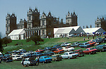 Sothebys auction house, sale at Mentmore Buckinghamshire  England 1977.