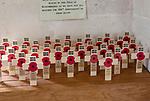 Village parish church of Saint Mary, Steeple Ashton, Wiltshire, England, UK 1914-1918 First World War memorials