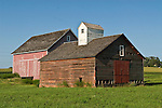 The Nimms 1884 weathered red barn at the Mongomery County historical society center