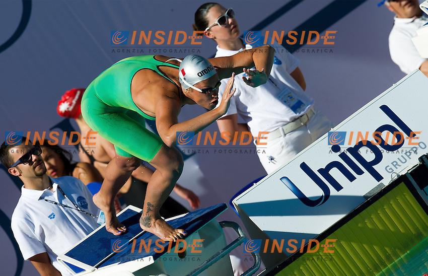 PELLEGRINI Federica, Italy, Aniene<br /> 400 freestyle women<br /> 50 Settecolli Trofeo Internazionale di nuoto 2013<br /> swimming<br /> Roma, Foro Italico  12 - 15/06/2013<br /> Day01 batterie heats<br /> Photo Giorgio Scala/Deepbluemedia/Insidefoto