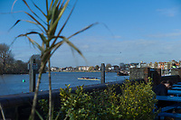 Hammersmith. London. United Kingdom, General View, &quot;Hammersmith Bend&quot;  2018 Men's Head of the River Race. Championship Course, Putney to Mortlake. River Thames, <br /> <br /> Sunday   11/03/2018<br /> <br /> [Mandatory Credit:Peter SPURRIER Intersport Images]<br /> <br /> Leica Camera AG  M9 Digital Camera  1/1500 sec. 50 mm f. 160 ISO.  17.5MB