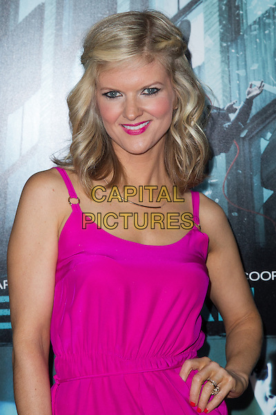 Arden Myrin.The premiere of FilmDistricts's 'Dead Man Down' at ArcLight Hollywood, Hollywood, California, USA..February 26th, 2013.half length pink dress hand on hip lipstick.CAP/ADM/JS.©John Salangsang/AdMedia/Capital Pictures.