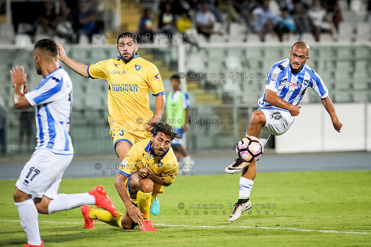 Benali Ahmad (PESCARA) during the Italian Cup - TIM CUP -match between Pescara vs Frosinone, on August 13, 2016. Photo: Adamo Di Loreto/BuenaVista*photo