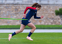 Lisbon, Portugal - November 4, 2018:  The USWNT trains in preparation for an international friendly against Portugal.