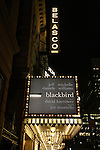 'Blackbird' - Theatre Marquee
