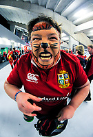 A Lions fan at the 2017 DHL Lions Series rugby union 3rd test match between the NZ All Blacks and British & Irish Lions at Eden Park in Auckland, New Zealand on Saturday, 8 July 2017. Photo: Dave Lintott / lintottphoto.co.nz