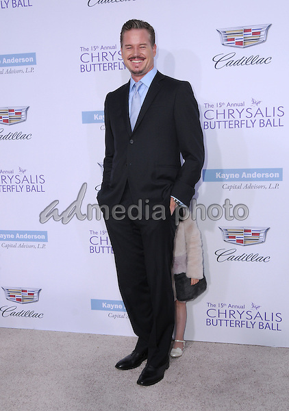 11 June 2016 - Los Angeles. Eric Dane, Georgia Dane. Arrivals for the 15th Annual Chrysalis Butterfly Ball held at a Private Mandeville Canyon Residence. Photo Credit: Birdie Thompson/AdMedia