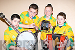 Kieran O'Sullivan, Micheal Dillane, Nimh Daltonand Bryan O'Leary Gneeveguilla who performed at the East Kerry Scor finals in the Aras Padraig Killarney on Saturday night         Copyright Kerry's Eye 2008