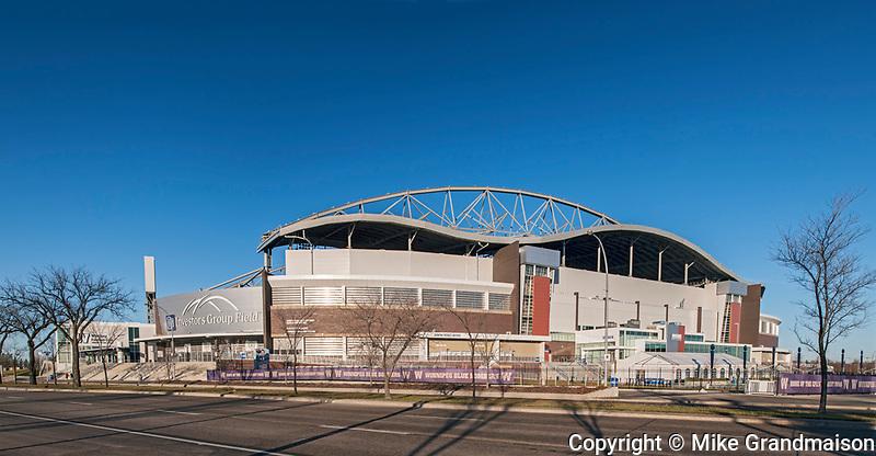 Investors Group Stadium. Raymond S.C. Wan, Architect, Winnipeg, Manitoba, Canada