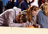 Fans Duke defeated Virginia 35-22 at Scott Stadium in Charlottesville, VA. . Photo/Andrew Shurtleff