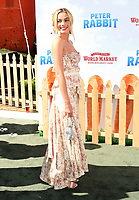 LOS ANGELES, CA - FEBRUARY 03: Actor Margot Robbie arrives at the Premiere Of Columbia Pictures' 'Peter Rabbit' at The Grove on February 3, 2018 in Los Angeles, California.<br /> CAP/ROT/TM<br /> &copy;TM/ROT/Capital Pictures