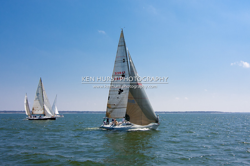 Texoma Sailing Club Icebreaker 3, third sailing race of 2011.