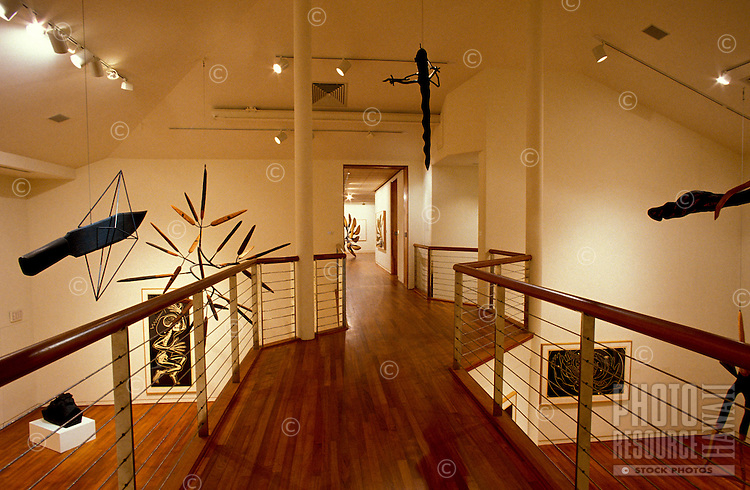 Interior of The Contemporary Museum in Makiki Heights, Honolulu