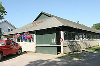 "The ""Stake Barn"" where all of the Belmont Stakes contenders will be housed, starting the Wednesday before the race."