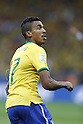 Luiz Gustavo (BRA), JULY 8, 2014 - Football / Soccer : FIFA World Cup Brazil 2014 Semi Final match between Brazil and Germany at the Estadio Mineirao in Belo Horizonte, Brazil. (Photo by AFLO) [3604]