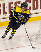 Allison Sexton (Merrimack - 27) - The number one seeded Boston College Eagles defeated the eight seeded Merrimack College Warriors 1-0 to sweep their Hockey East quarterfinal series on Friday, February 24, 2017, at Kelley Rink in Conte Forum in Chestnut Hill, Massachusetts.The number one seeded Boston College Eagles defeated the eight seeded Merrimack College Warriors 1-0 to sweep their Hockey East quarterfinal series on Friday, February 24, 2017, at Kelley Rink in Conte Forum in Chestnut Hill, Massachusetts.