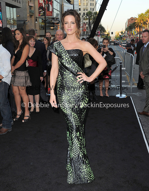 Kate Beckinsale at The Columbia Pictures' Premiere of Total Recall held at The Grauman's Chinese Theatre in Hollywood, California on August 01,2012                                                                               © 2012 Hollywood Press Agency