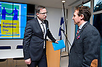 Brussels - BELGIUM - 18 November 2015 -- European Maritime Day in Turku, Finland --Information Meeting for Maritime Stakeholders.  -- Aleksi Randell, Mayor, City of Turku with Claus Schultze, Policy Officer, DG MARE. -- PHOTO: Juha ROININEN / EUP-IMAGES
