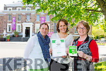 Ann Spillane, Sandra Leahy and Helen O 'Carroll (curator of Kerry County Museum) with their tripadvistor Certificate of Excellence Award for the Kerry County Museum on Monday