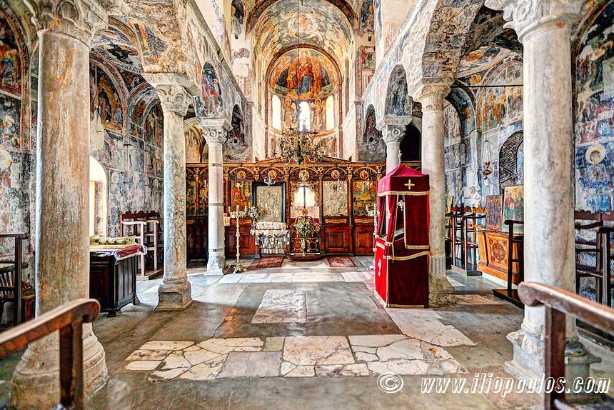 The Monastery of Pantanassa in Mystras, Greece