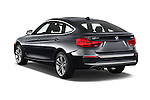 Car pictures of rear three quarter view of 2018 BMW 3-Series 330i-Gran-Turismo 5 Door Hatchback Angular Rear