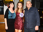 Christina Mackin celebrating her 21st birthday in Brú with parents Tosh and Caroline. Photo: Colin Bell/pressphotos.ie
