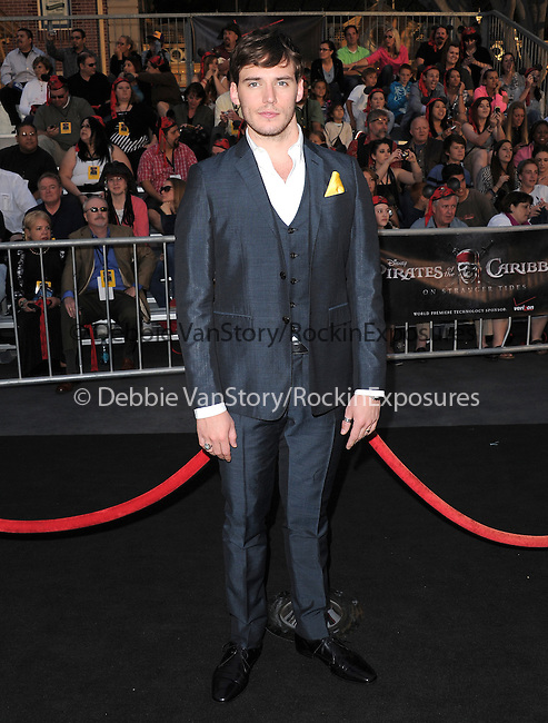 Sam Claflin at Walt Disney Pictures Premiere of Pirates of the Caribbean : On Stranger Tides held at Disneyland in Anaheim, California on May 07,2011                                                                               © 2010 Hollywood Press Agency