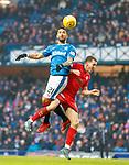 4.3.2018: Rangers v Falkirk Scottish Cup QF<br /> Daniel Candeias and Louis Longridge