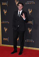10 September  2017 - Los Angeles, California - James Wolk. 2017 Creative Arts Emmys - Arrivals held at Microsoft Theatre L.A. Live in Los Angeles. <br /> CAP/ADM/BT<br /> &copy;BT/ADM/Capital Pictures