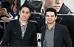 "WESTWOOD, CA. - June 23: Omar Doom and Sam Levine arrive at the 2009 Los Angeles Film Festival's premiere of ""Public Enemies"" at the Mann Village Theatre on June 23, 2009 in Westwood, Los Angeles, California."