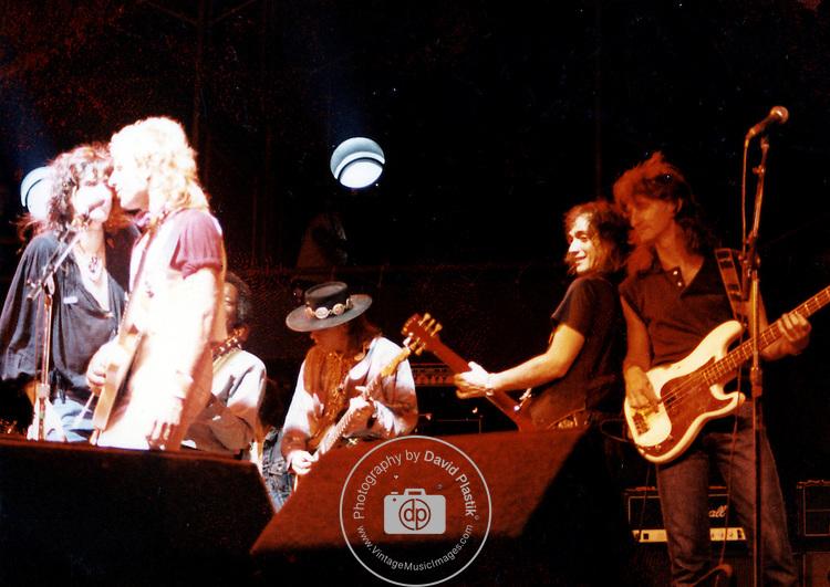Steven Tyler, Vital Gerulaitas, Buddy Guy, Stevie Ray Vaughn, Jimmy Crespo, Geddy Lee, 1983, Pier 84,