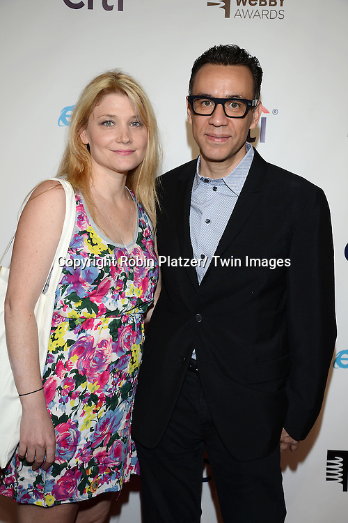 Fred Armisen and Marnie Stern  attends the 17th Annual Webby Awards on May 21, 2013 at Cipriani Wall Street in New York City.