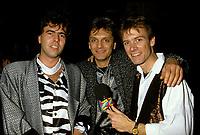 Montreal (Qc) CANADA -Nov 11, 1986  Marc Carpentier (R) at Marjo album launch