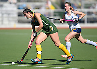 Action from the Federation Cup and Marie Fry Trophy match between Hillcrest High School and St Matthews Collegiate at Park Island in Napier, New Zealand on Tuesday, 5 September 2016. Photo: Kerry Marshall / lintottphoto.co.nz