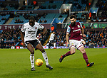 Clayton Donaldson of Sheffield Utd  and Mile Jedinak of Aston Villa during the Championship match at Villa Park Stadium, Birmingham. Picture date 23rd December 2017. Picture credit should read: Simon Bellis/Sportimage