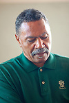 "Roscoe Williams reminisces about the early days of integration at the Augusta Municipal Golf Course, ""The Patch,"" on the day of the African American Golfers Tournament in Augusta, Georgia April 7, 2010."